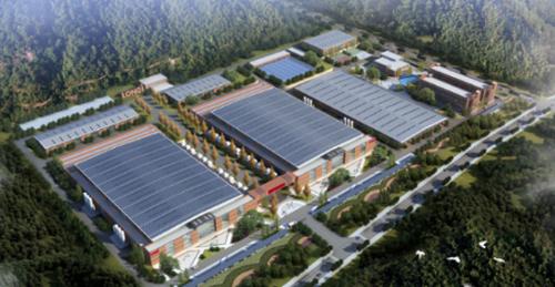 水力発電100%の工場