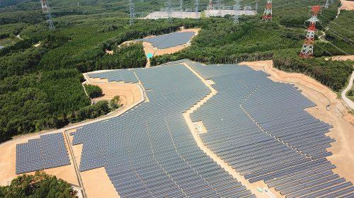 石川県志賀町メガソーラー発電所